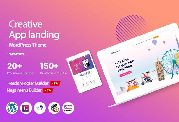 appside WordPress theme